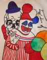 Pogo and Clown Skull